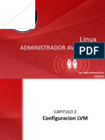 Linux Administrador Avanzado-Configuracion LVM Cap-2