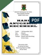 Buku Program Hari Anugerah 2011