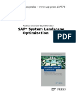 SAP System Landscape Optimization