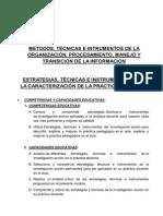 ESTRATEGIAS PEOCESAMIENTO PROGRMACION