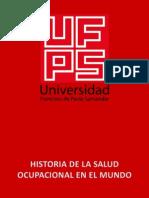 Historia de La Salud Ocupacional en El Mundo