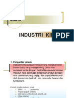 III. Manajemen Industri Kimia