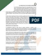 Tema1-Lectura1Las Organizaciones y La Necesidad de Administrarlas