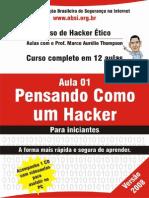 Curso de Hacker 2008 Aula 1 Livro Texto