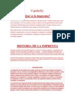 Historia de La Imprenta((Repartido))