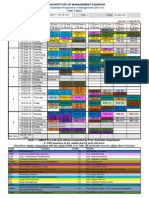 Time Table-Term v PGP 2013-15 Pre-midterm