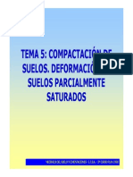 Tema 05 - Compactación de Suelos