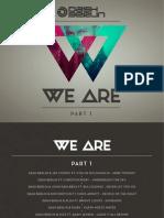 Digital Booklet - We Are, Pt. 1