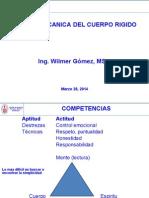 1Clase Mecanica Cuerpo Rigido 2014