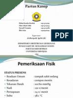 Presentasi Kasus Partus Kasep