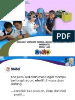 2014-05!22!3. Taklimat Umum DSKP Matematik Tahun 5