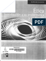 Etica Introduccion a Su Problematica e Historia