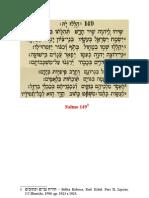 Catequese - Festa Dos Amigos de Deus - Salmo 149