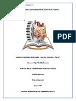 Origen,Evolucion y Estado Actual de La Quimica_Mijail_Radilla_Unidad 1