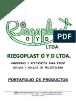 Catalogo Riegoplast o y d Ltda. 2.008