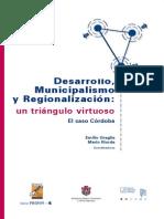 Desarrollo Municipalismo y Regionalizacion