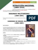 Reconstrucción Nacional-república Aristocratica