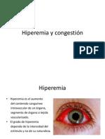Hiperemia y Congestión