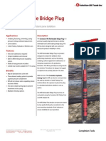 WR Retrievable Bridge Plug Technical Datasheet