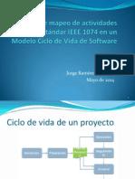 Ejemplo de Mapeo de Actividades Del Estándar IEEE