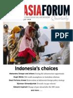 East Asia Forum Quarterly Vol5 No4 OctDec2013 Indonesias Choices