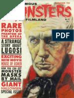 Famous Monsters of Filmland 009 1960 Warren Publishing