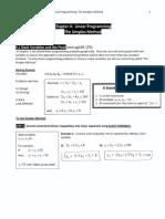 Linear Programing Simplex Method