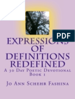 Expressions of Definitions Redefined Book 1 Library Edition