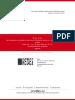 Las Incubadoras Universitarias de Empresas en La Argentina- Reflexiones a Partir de Algunas Experien
