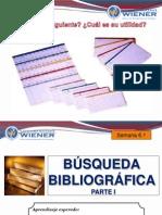 Semana 6.1 La Busqueda Bibliografica 2