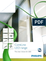 CoreLine LED Brochure 2013