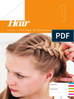 Level 1 Diploma in Hairdressing - Record of Assessment Book