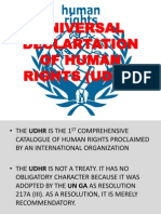 Universal Declartation of Human Rights (Udhr)