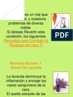 Remedios Para Combatir La Rosacea - Que hacer con la Rosacea