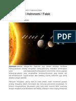 sejarah awal astronomi