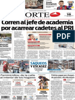 Periódico Norte edición del día 18 de septiembre de 2014
