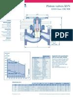 klinger valve details