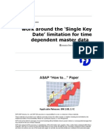 How to ... work around the 'Single Key Date' limitation