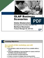 OLAP Business Scenarios