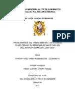 Proyecto de Tesis de Economia - Pymes 2011