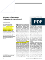 Massacre in Assam