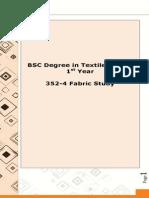 352-4 Fabric Study