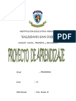 Proyecto I Dia Del Logro - Primaria