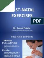 Post Natal Exercises