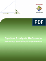 System Analysis Reference