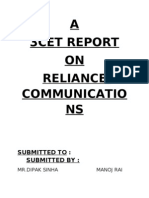 reliance communications project