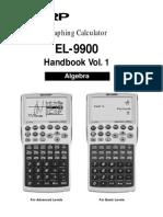EL-9900 Handbook Vol1