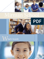 Mirman School Annual Report 2012-2013