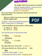 3.7 empiricalformula