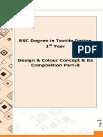 Design & Colour Concept & Its Composition Part-B